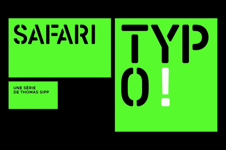 Safari Typo